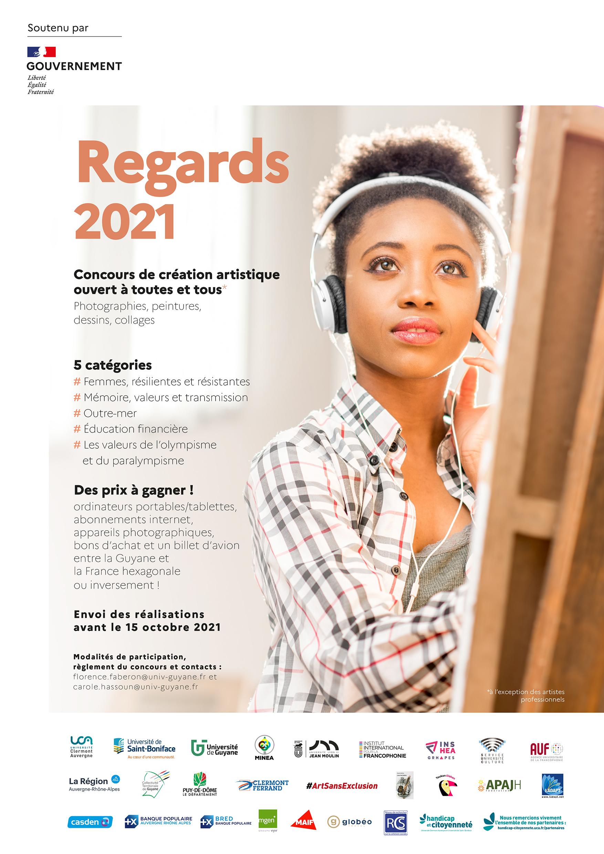 Regards 2021 : affiche